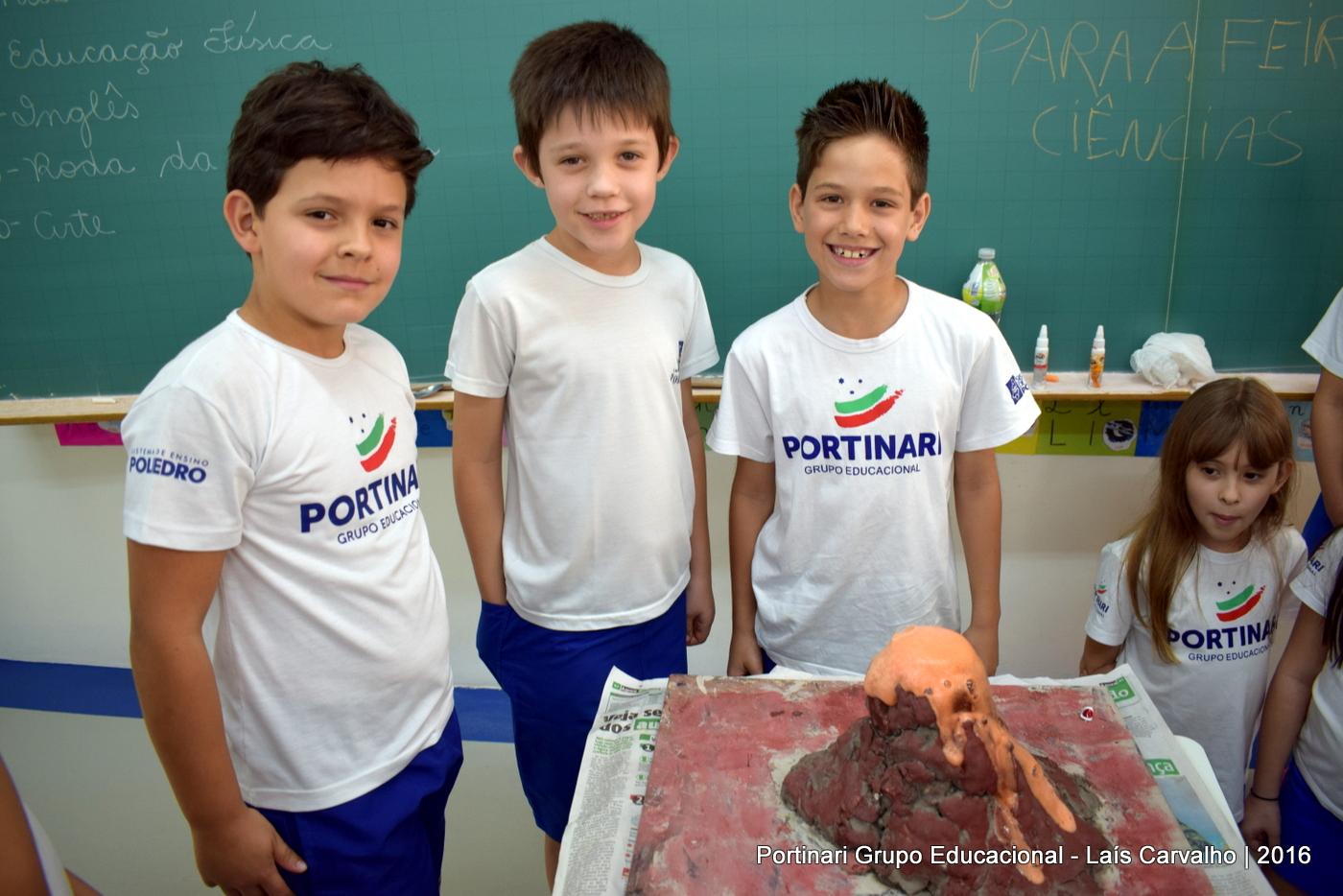 """Troca de Saberes: alunos trazem experiência """"Super Vulcão"""""""