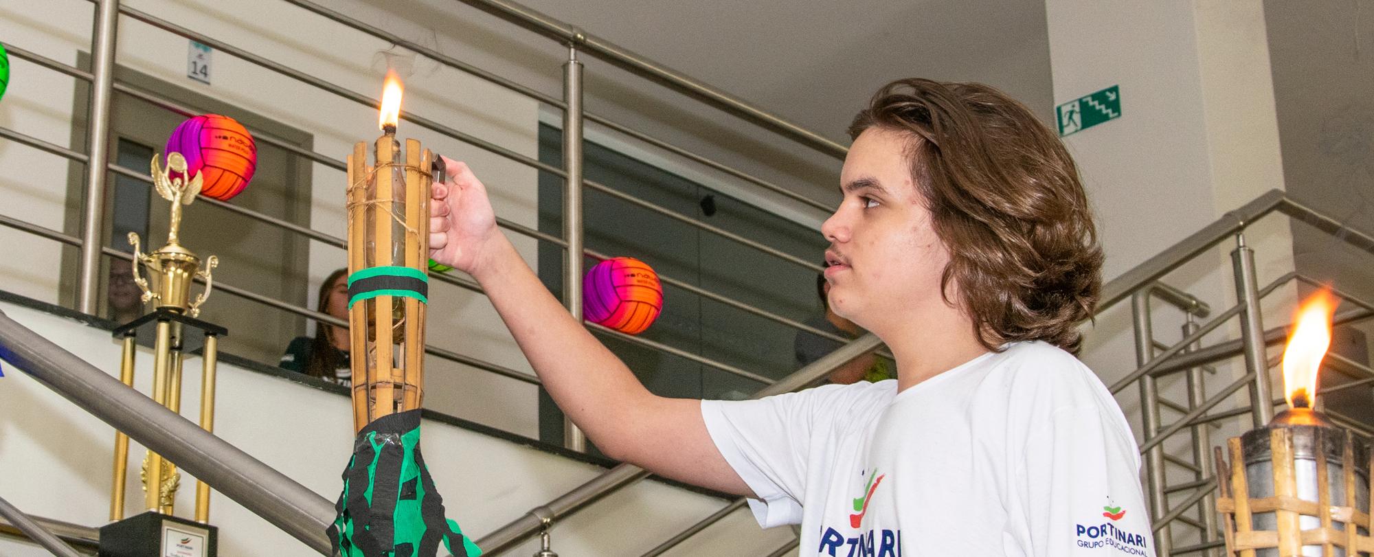 Ensino Médio dá início ao Queimadão 2019