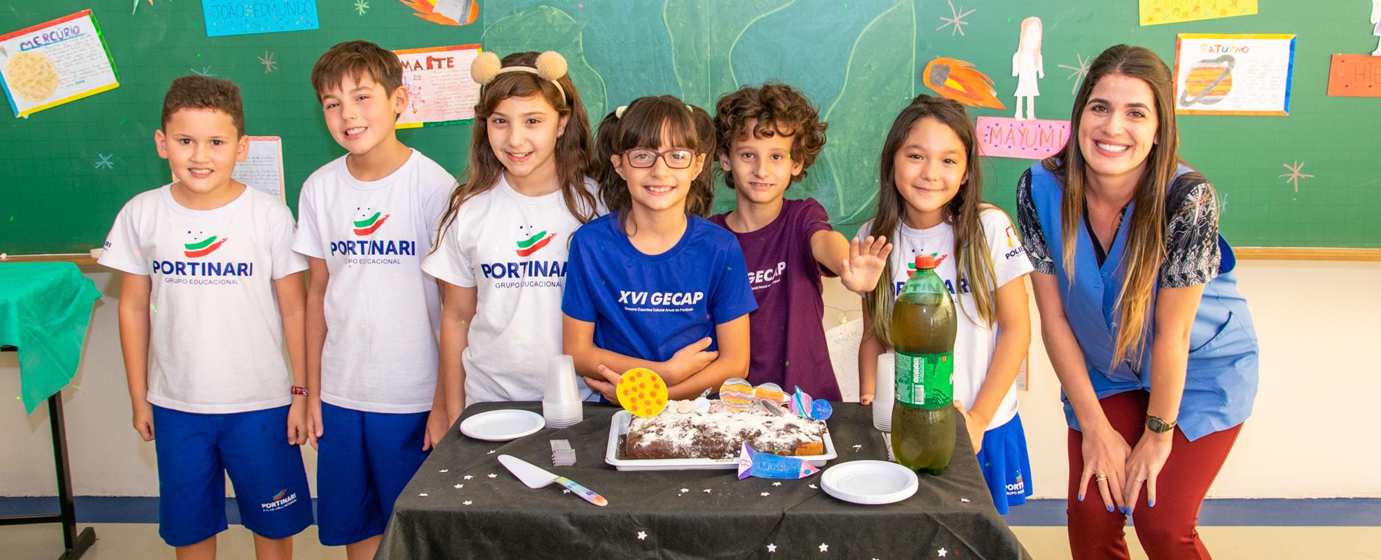 Festas dos Aniversariantes dos 4ºs anos comemoram nascidos em janeiro, fevereiro e março