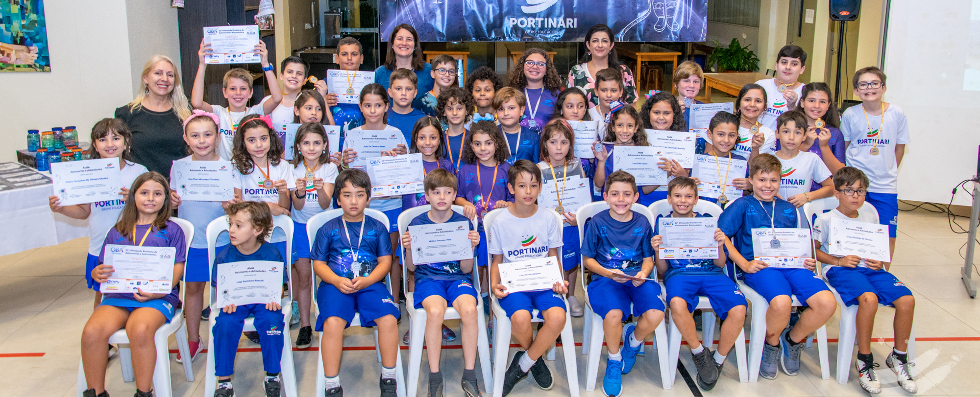 Ateliê de Astronomia entrega certificados de 2019