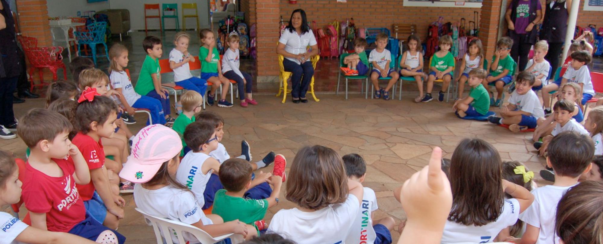 Troca de Saberes no Ensino Infantil tem como tema hábitos de higiene